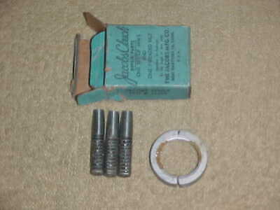 NOS Jacobs U1 /& S1 1A /& 1B Drill Chuck Rebuild Kit Nut /& Jaws With Sleeve USA