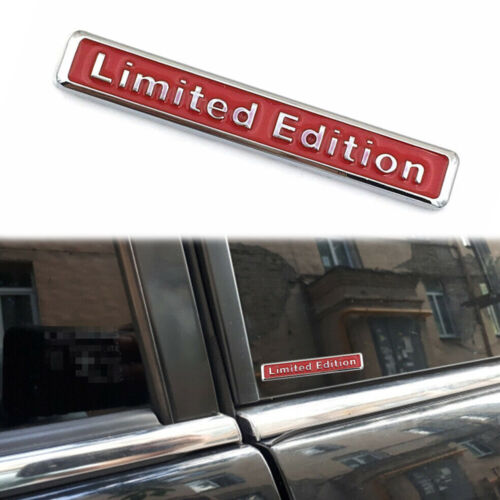 Limited Edition Auto Car Accessory 3D Sticker Badge Decal Motorcycle Emblem Top