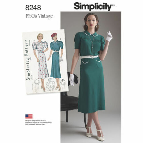 SIMPLICITY VINTAGE 1930/'s SERIES Reissued Sewing Patterns UPick Sizes 6-22