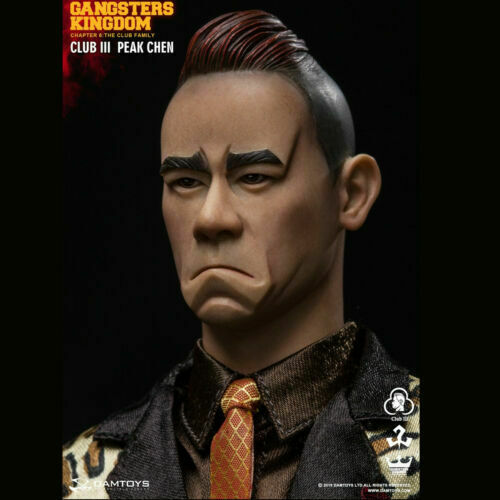 1//6 scale DAMTOYS GK018 Gangsters Kingdom Club 3 Peak Chen HANDS SET x4 pcs