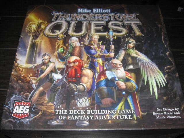 thunderstone quest board card game kickstarter pledge ks aeg ebay