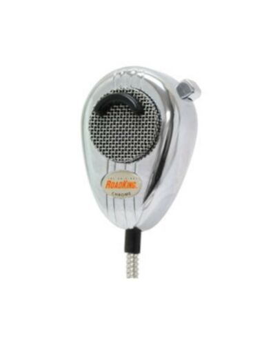 Chrome /& CHROME CORD UNIDEN RoadKing 6-Pin Dynamic Noise Canceling CB,HAM Mic