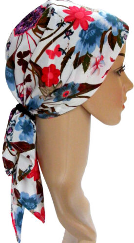 blue Easy jeûne Suitable For Hair Loss white Padded red Chimio Head Scarf