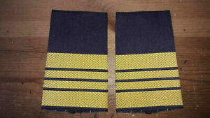 gelb in blau Bundesmarine Rangschlaufen Obermaat