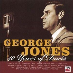 GEORGE-JONES-40-YEARS-OF-DUETS-Yearning-Waltz-Of-The-Angels-Milwaukee-NEW-CD