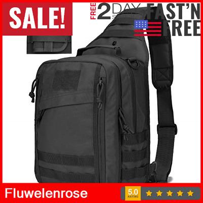 Tactical Sling Bag Military Backpack Pack Rover Shoulder Molle Assault Range Bag