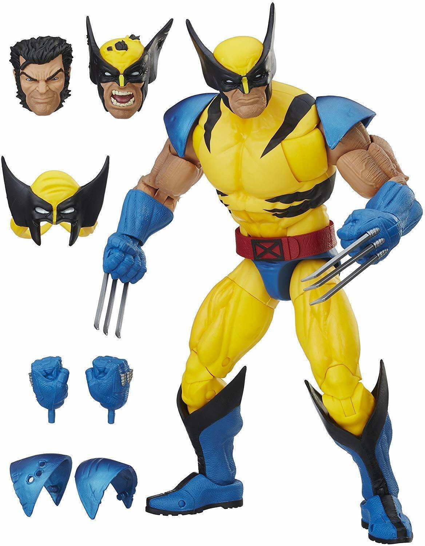 Hasbro Marvel Legends- Figura di Azione di Wolverine Wolverine- 30 CM