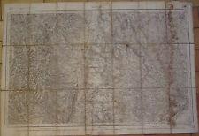 CARTE D'ETAT-MAJOR ENTOILEE N° 159 - 1/80000 - BOURG-EN-BRESSE - 1841