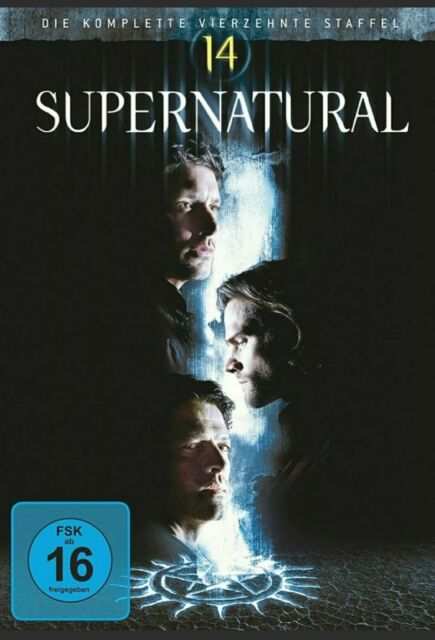 Supernatural - Season/Staffel 14 # 5-DVD-BOX-NEU