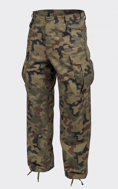Helikon TEX SFU NEXT Combat Outdoor PANTERA WOODLAND Pantaloni Pants LR Large Regular