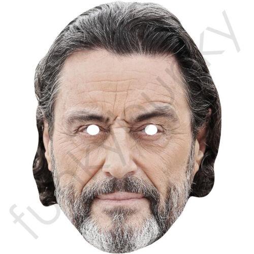 Ian McShane Celebrity Card Mask All Our Masks Are Pre-Cut! Deadwood Lovejoy