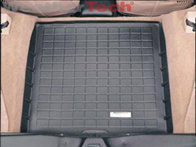 WeatherTech Cargo Liner Trunk Mat - Chevy Corvette - 1984-1996 - Black