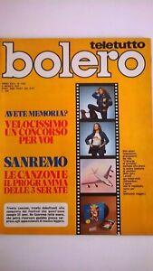 Bolero-1452-Sanremo-Aznavour-Baker-Medici-Gemma-Navarro-Guardabassi-Minnelli