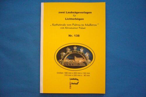 """Laubsägevorlagen Nr138 Bauplan /""""Kathedrale Mallorca/"""" sensationellste REGU"""