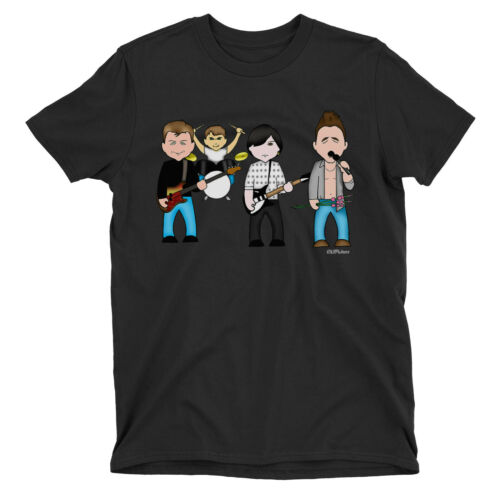 Kids VIPwees T-Shirt This Charming Band 80s Music Boys Girls Caricature Gift Top