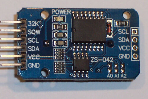 DS3231 AT24C32 IIC PRECISION REAL-TIME CLOCK  MODULE NEW STYLE ! MEMORY
