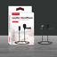 USA 1.5m Wired Professional Lavalier Lightning Microphone for iPhone/&iPad video