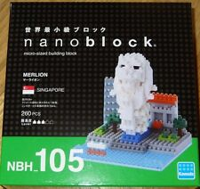 Merlion Nanoblock Micro Sized Building Block construction toy Kawada NBH105