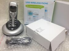VOIP USB wireless Cordless Skype Phone