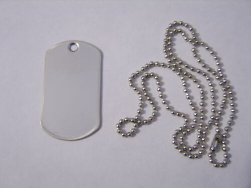 3rd INFANTRY DIVISION DOG TAG OPERATION ENDURING FREEDOM NIP
