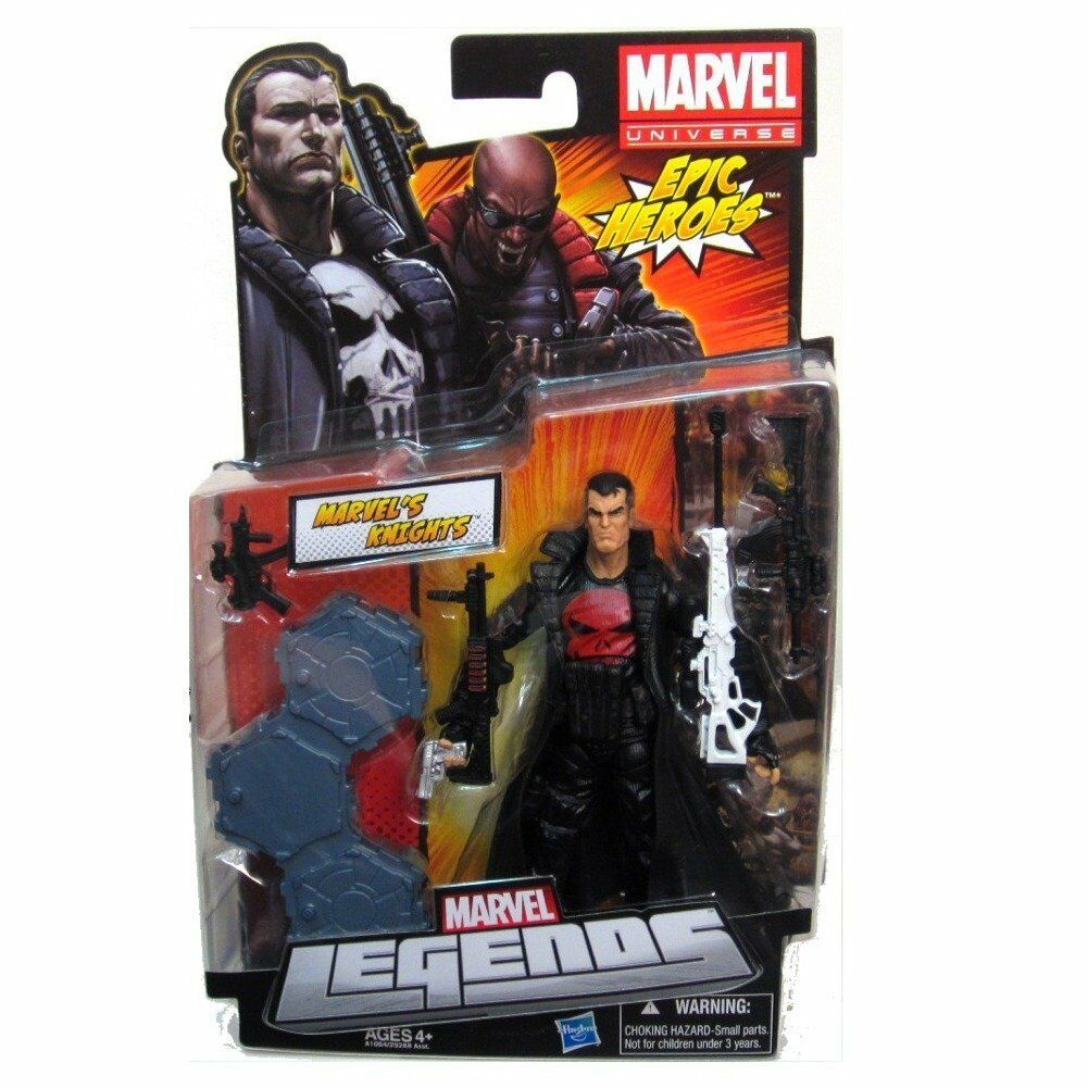 Marvel legends  knights the punisher rouge skull epic heroes series hasbro figure  expédition rapide à vous