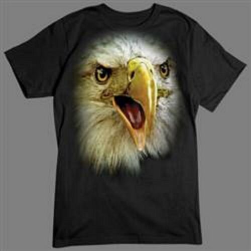 Eagle in Your Face Long Sleeve T Shirts Pick Your Size