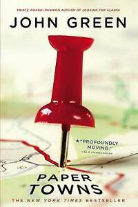 NEW-Paper-Towns-By-John-Green-Paperback-Free-Shipping