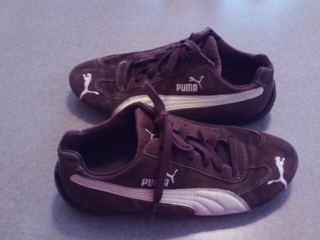 Vintage PUMA Speed Cat Suede Driving Shoes Size 8 W/6.5 M.