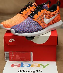 huge discount 9df74 0365a Image is loading Nike-Roshe-Run-Flyknit-Random-Yarn