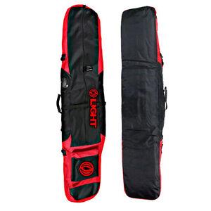 Light Padded Snowboard Bag Boots Bag  Should Strap Bag Black Red 152/172cm