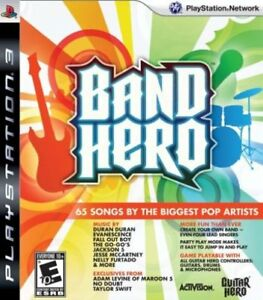 Details about BRAND NEW PS3 Band Hero Guitar Rock Game PlayStation 3 SEALED