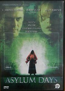 ASYLUM-DAYS-DVD-Nuovo-sigillato-EP-Enrico-Pinocci