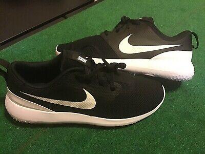 Nike Roshe G Spikeless Golf Shoes Black White Aa1837 001 Men S Size 8 5 Ebay