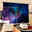 3D Starry sky 7 Blockout Photo Curtain Printing Curtains Drapes Fabric Window AU