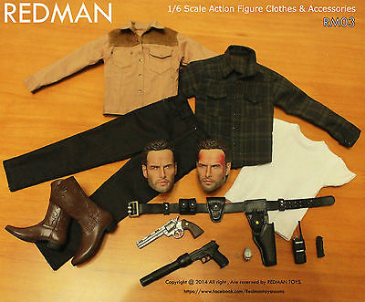 1/6 scale walking dead Rick Grimes - in stock REDMAN Casual Edition Package RM03