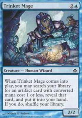 4 Trinket Mage ~ Lightly Played Fifth Dawn 4x x4 Playset MTG Magic Blue Card Ult