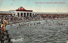 New Open Air Swimming Bath Southport 1932