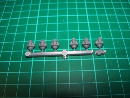 Space Marine Primaris Intercessors Heads bits