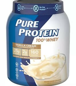 100-Whey-Protein-powder-1-75lb-isolate-blend-BCAA-Muscle-Growth-Fat-Loss-25g