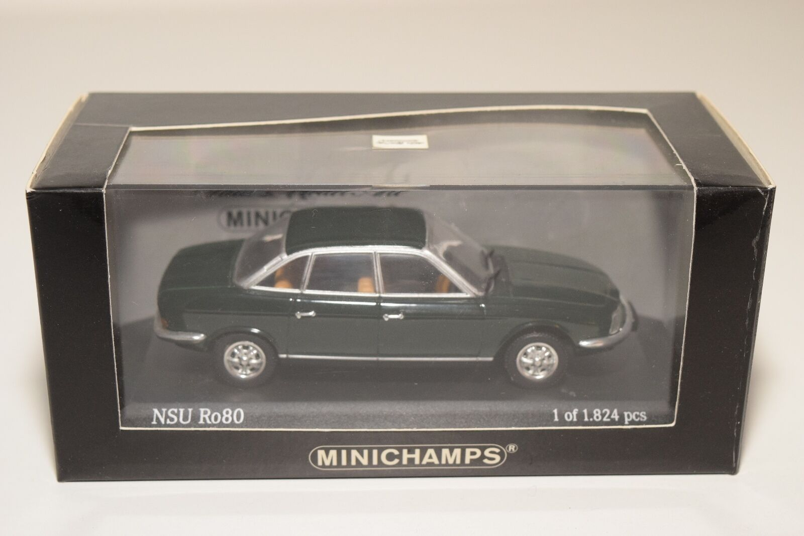 MINICHAMPS NSU RO80 2018 SPANISH Verde MINT BOXED