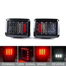 Rear LED Tail Light Assembly Turn Signal Back Up Lamp for Jeep Wrangler JK 07-17