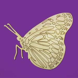 wooden shapes butterfly butterflies craft embellishments decoration