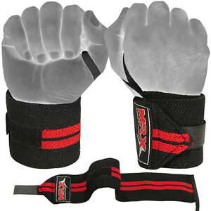 Weight-Lifting-Wrist-Wraps-Fitness-Weightlifting-Gym-Workout-Training-MRX-1-Pair