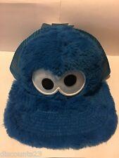 Authentic Licensed Cookie Monster Mesh Hat PBS Sesame Street Snapback