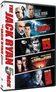 The-Jack-Ryan-5-Pack-New-DVD-Boxed-Set-Dolby-Digital-Theater-System-Dubbe