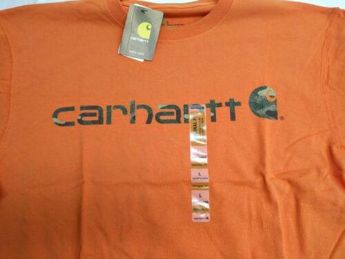 Carhartt K195 Manches Courtes Logo Signature T-shirt Livraison gratuite J3-195