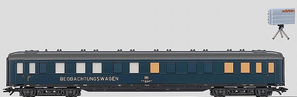 Märklin h0 49940 Bauwagen M. videocamera integrata U. Trasmettitore NUOVO
