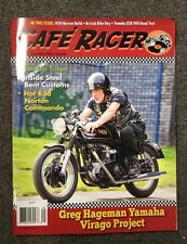 Cafe Racer Magazine August/September 2016 Greg Hageman Yamaha Virago Project
