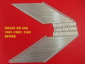 C REAR SPOKE SET 72PCS SUZUKI DR500 1981-1982 FRONT