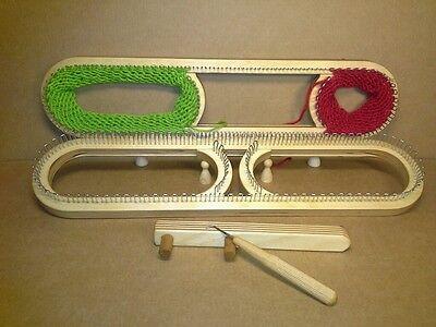 112 Strickrahmen XLverstellb Strickring Strickstab Strickliesel Knitting Board